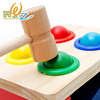 Colorful Wooden Geometric Assembling Blocks Hammering Ball Kids Early Learning Educational Toys For Baby Babies Children