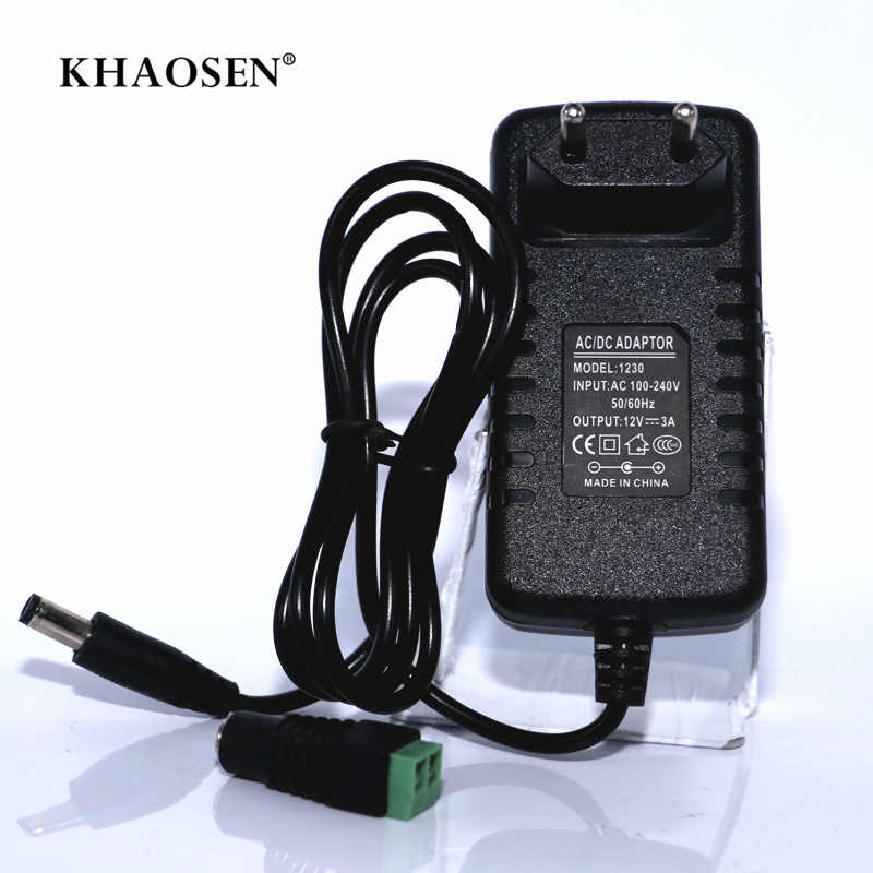 Power Supply Adapter Transformer Charger Converter AC100V-240V To DC12V 1A 2A 3A 5A 6A 8A 10A For 5630 5054 5050 LED Strip Light