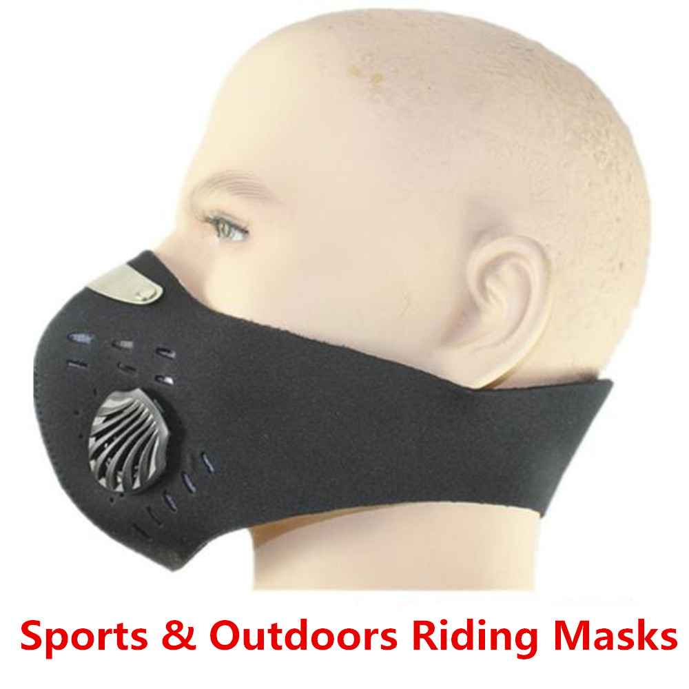Riding Face Mask Activated Carbon Face Mask Sports Outdoor Mountain Bike PM2.5 Anti Fog Haze Warm Dust Mask summer dust proof sunscreen neck mask female outdoor riding mask