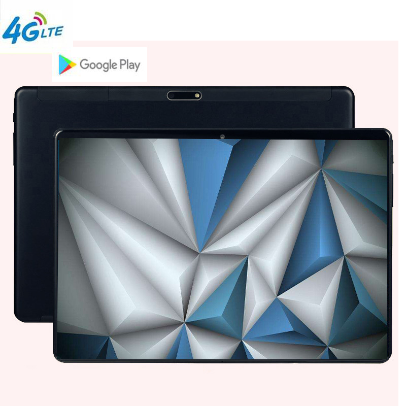 Hot 10.1 pouces tablette pc Android 9.0 10 Core 6 GB RAM 128 GB ROM 1920*1200 IPS HD WIFI 2 SIM 3G 4G FDD LTE alphablet GPS tablettes 10