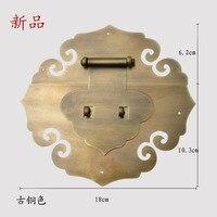 [Хаотянь вегетарианские Китайский античный Мин и Цин Чжан Muxiang] Бронза Медь фитинги подходит 80 100 см коробка