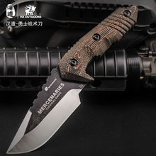 HX OUTDOORS Fixed Blade Knife 58Hrc With K Sheath Hunting Rescue Camping knives Edc Tool Survival Outdoor Tools