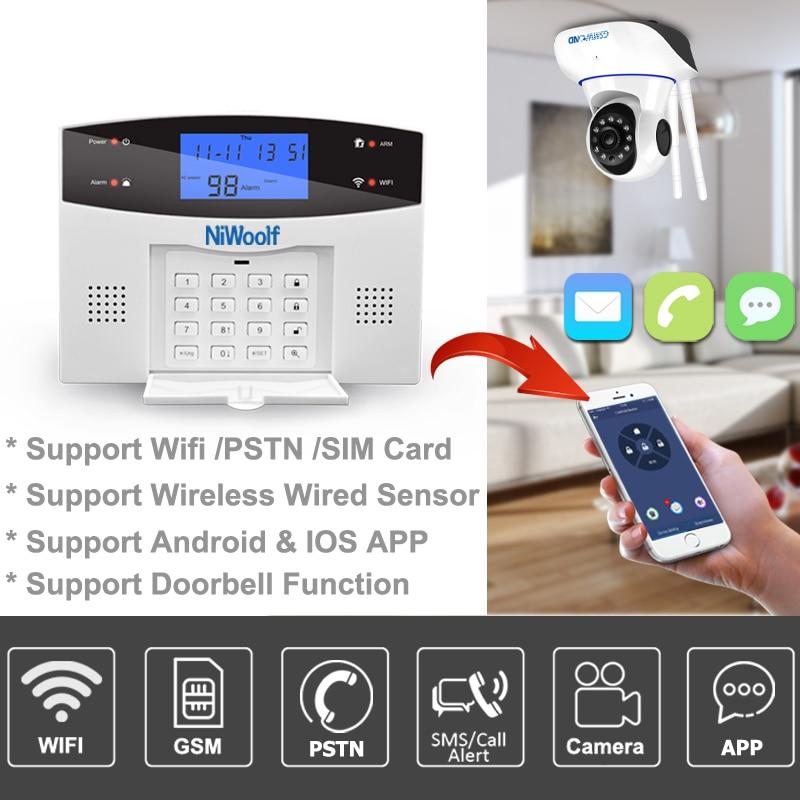 NiWoolf -- wifi gsm alarm