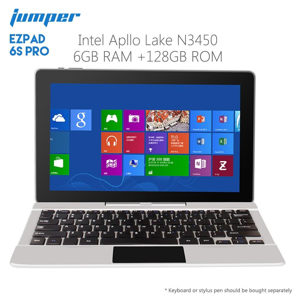 Original Jumper EZpad 6S Pro Tablet PC 11.6 Inch Apollo Lake N3450 Quad Core 6GB RAM 128GB ROM Tablet PC WiFi Bluetooth