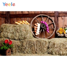 Yeele Autumn Rural Farm Barn Haystack Corn Scene Baby Child Photography Backgrounds Custom Photographic Backdrop Photo Studio