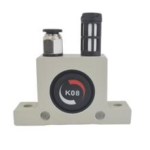 цена на Free shipping Industrial household pneumatic vibrator oscillator ball-type K-series K8,K10,K13,K16,K20,K25,K30,K32,K36