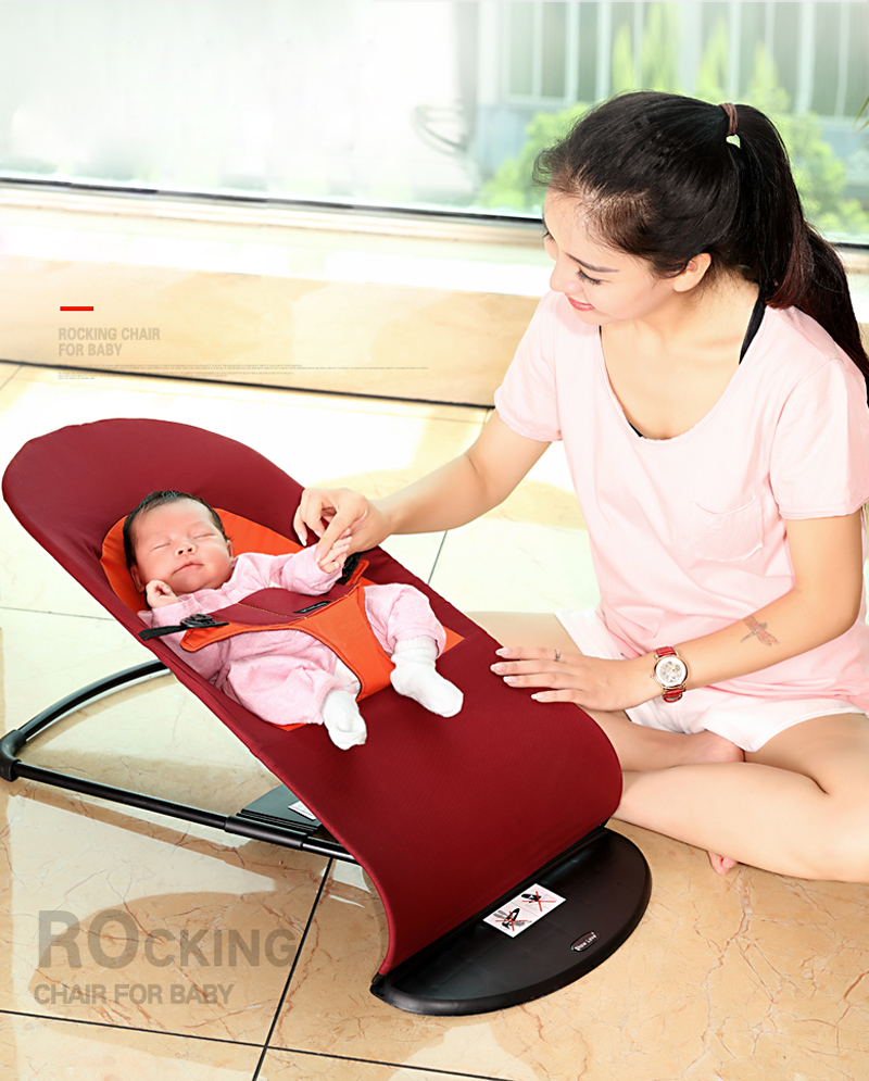 2020 2018 New Style Newborns Folding Bed Baby Rocking Chair