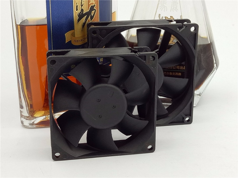 80*80*25 Household or industrial cooling fanNo bearing fan 12V 0.10-0.30A