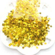 3000pcs/bag Stars Confetti Sprinkles Table Confetti Birthday Gold Silver Sparkle Wedding Confetti For Party Decoration 6mm все цены