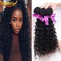 7A Malaysian Curly Hair 3PCS Malaysian Virgin Hair Deep Curly Rosa Hair Products 100% Human Hair Weave Mink Malaysian Deep Curly