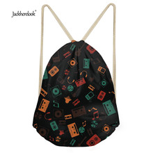 Jackherelook Kids Girls Backpack Small School Drawstring Storage Shoulder Bags Women Casual Shoes Cloth Bag Rucksack Cinch Bags
