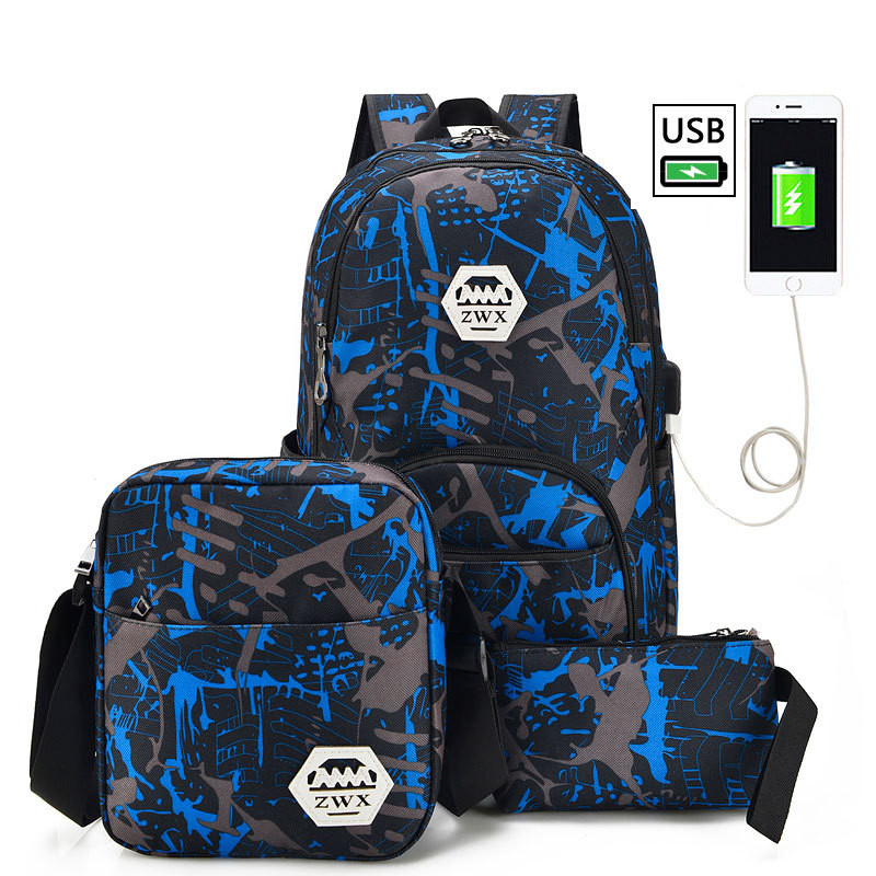 New Design USB Charging Men's Backpacks Male Casual Travel Mochila Teenagers Women Student School Bags Laptop Backpack new gravity falls backpack casual backpacks teenagers school bag men women s student school bags travel shoulder bag laptop bags