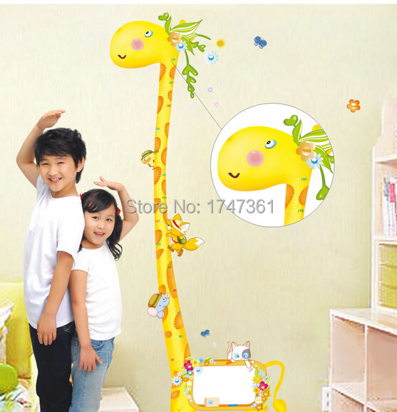 home decoration wall stickers xy1109 tall giraffe wall stickers for