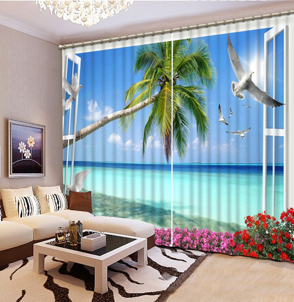 window curtains Scenery Beauty Digital Photo Printing Blackout 3D Curtains for Living Room Bedding Room Hotelwindow curtains Scenery Beauty Digital Photo Printing Blackout 3D Curtains for Living Room Bedding Room Hotel