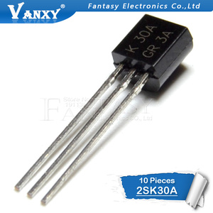 Image 2 - 10PCS 2SK30A TO 92 K30A TO92 new MOS FET transistor