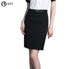 a39c86f504cda GBYXTY jupe crayon taille haute Womens Summer High Waist Pencil Skirt  Formal Office Ladies Workwear Skinny