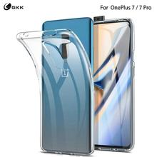GKK Original Case for Oneplus 7 Case Transparent Soft TPU Texture Full Protection Back Cover for Oneplus 7 Pro case Coque Fundas [hk stock] soft case tpu transparent back cover for oneplus 3