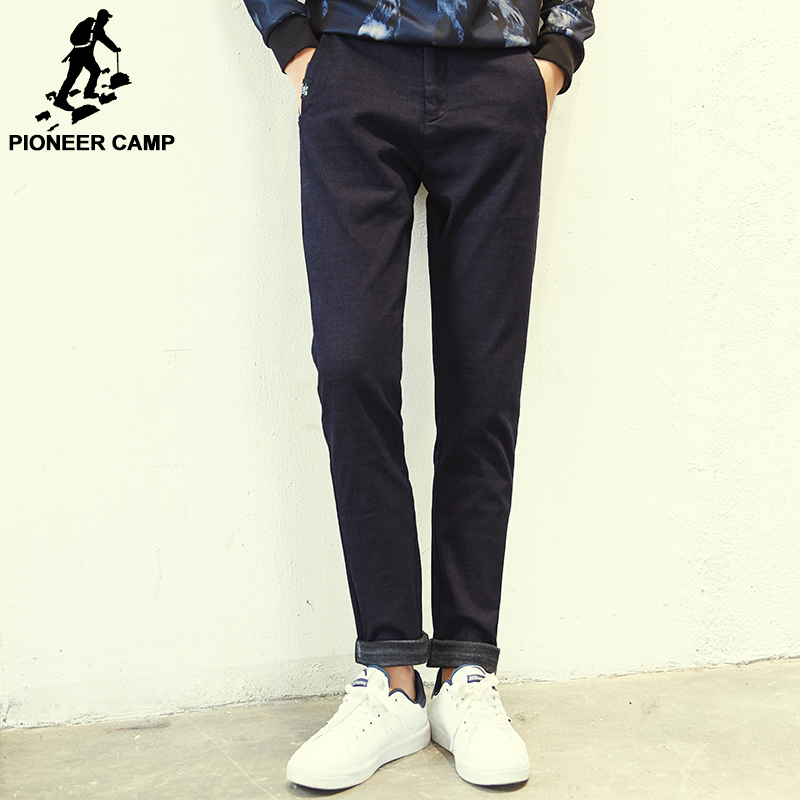 Pioneer Camp 2017 New arrival Spring jeans men famous brand clothing denim trousers men fashion casual male denim pants 611048