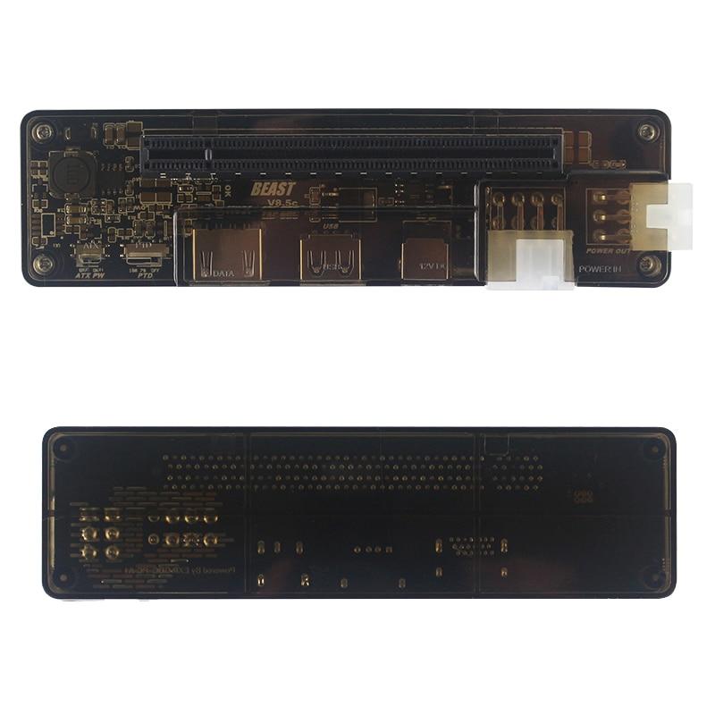 Station d'accueil externe pour ordinateur portable PCI-E EXP GDC Station d'accueil pour ordinateur portable avec carte graphique (Version d'interface Mini PCI-E) - 3