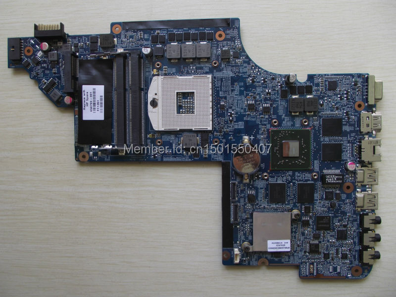 Free Shipping 650799-001 for HP Pavilion DV6 DV6-6000 DV6T motherboard HD6770/2G.All functions 100% fully Tested !