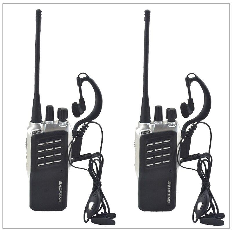 2 teile/los Baofeng BF-658 UHF 400-470 MHz Portable Two-way radio Transceiver Baofeng Walkie-talkie für schinken, hotel mit Freier hörmuschel