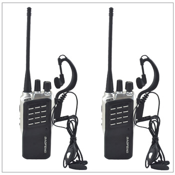2pcs/Lot Baofeng BF-658 UHF 400-470MHz Portable Two-way radio Transceiver Walkie-Talkie for ham,hotel with Free earpiece - sale item Walkie Talkie
