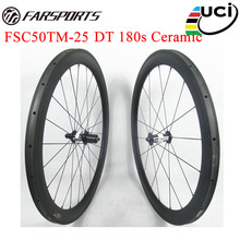 High end road wheels DT 180s hubs carbon road bike wheels 38mm 50mm depths cycling wheels with 18 months warranty
