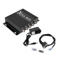 New XVGA Box RGB RGBS RGBHV To VGA Industrial Monitor Video Converter Wholesale
