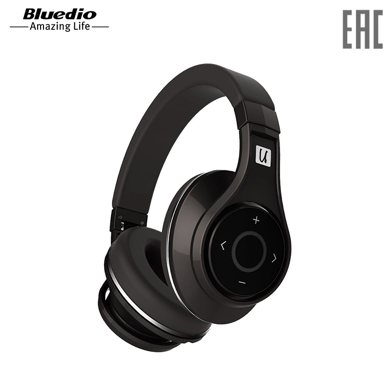 Headphones Bluedio U wireless bluedio t2 bluetooth4 1 wireless stereo headphone blue