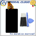 Black For Sony for Xperia ZR M36h C5503 C5502 LCD Display Touch Screen Digitizer Assembly With Tools , Free Shipping!!