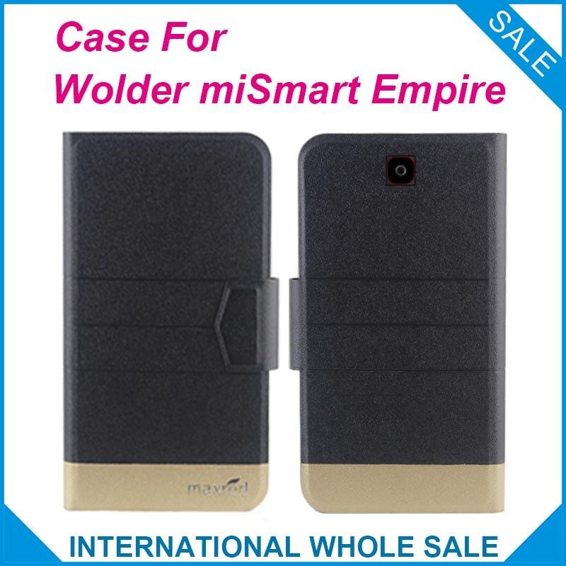 5 barev Hot! Pouzdro miSmart Empire Vysoce kvalitní Vysoce kvalitní nové stylové kožené pouzdro pro Wolder miSmart Empire
