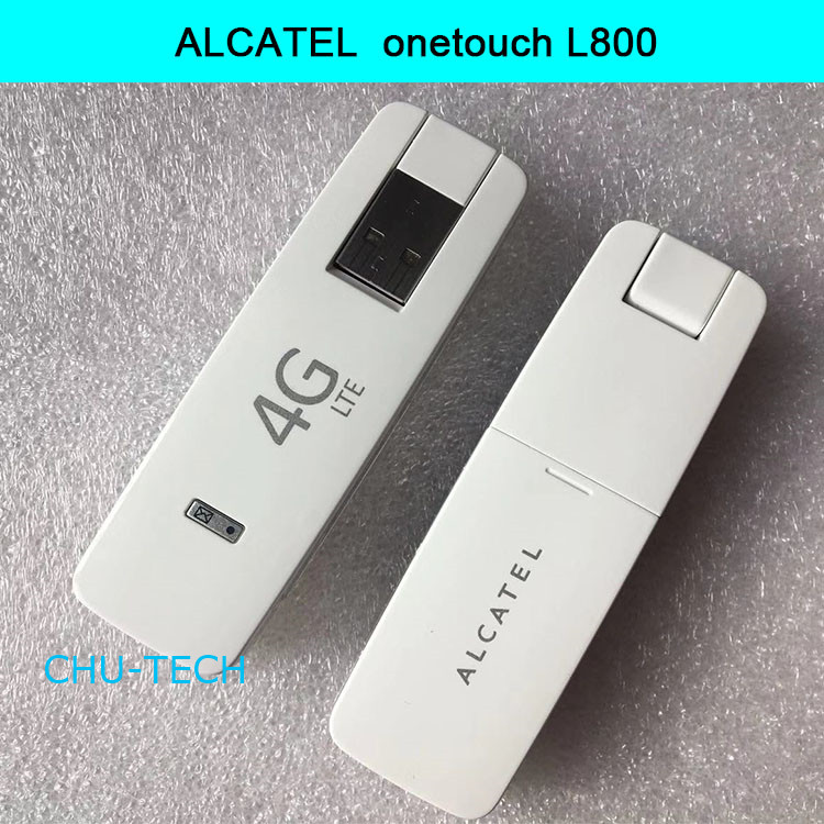 Sbloccato alcatel L800 4G LTE a 100 Mbps USB Stick Modem A Banda Larga PK huawei E3372 E8372 alcatel L850VSbloccato alcatel L800 4G LTE a 100 Mbps USB Stick Modem A Banda Larga PK huawei E3372 E8372 alcatel L850V
