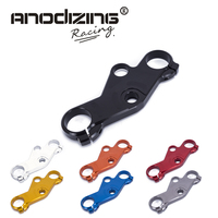 Motorcycle Lowering Triple Tree Front End Upper Top Clamp For Suzuki GSXR600/750 2001 2003 GSXR1000 01 05