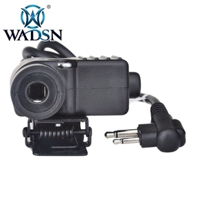 Image 3 - WADSN Airsoft หูฟัง U94 PTT สำหรับ KENWOOD Plug Walkie Talkie Baofeng UV 82 วิทยุอะแดปเตอร์ Push to Talk Softair ชุดหูฟัง WZ113