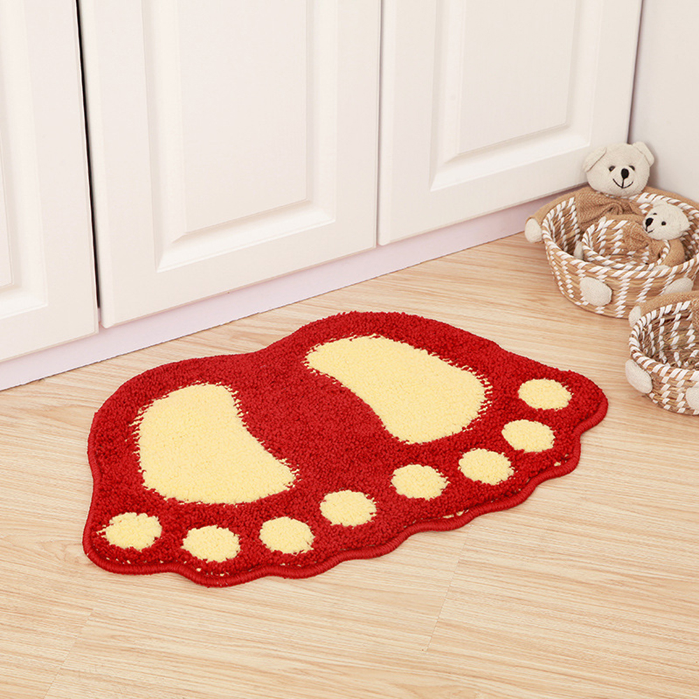 Home & Garden Non-slip Silicone Grippers Rug Carpet Mat 2pairs Anti Skid Corners Pad For Bathroom Kitchen Mats Fixed Living Room Mat Grippers Customers First