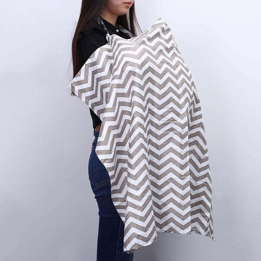 Breathable Breastfeeding Cover Cotton Muslin Privacy Apron Outdoors Feeding Baby Nursing Cloth Nursing Cover Scarf Towel