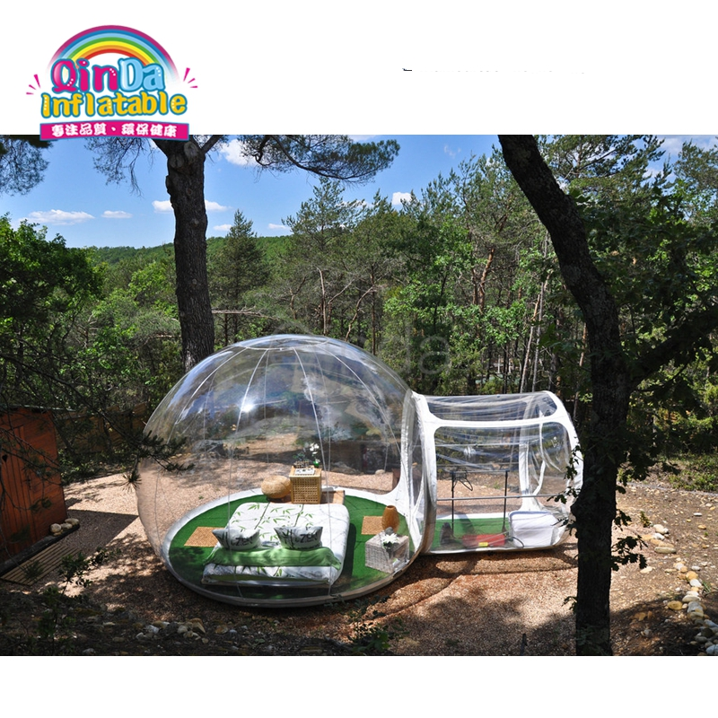 Outdoor Transparent inflatable lawn bubble tent,bubble tree camping tent inflatable beach tent for sale pvc bubble inflatable tent transparent camping tent hot large inflatable tent inflatable ball tent