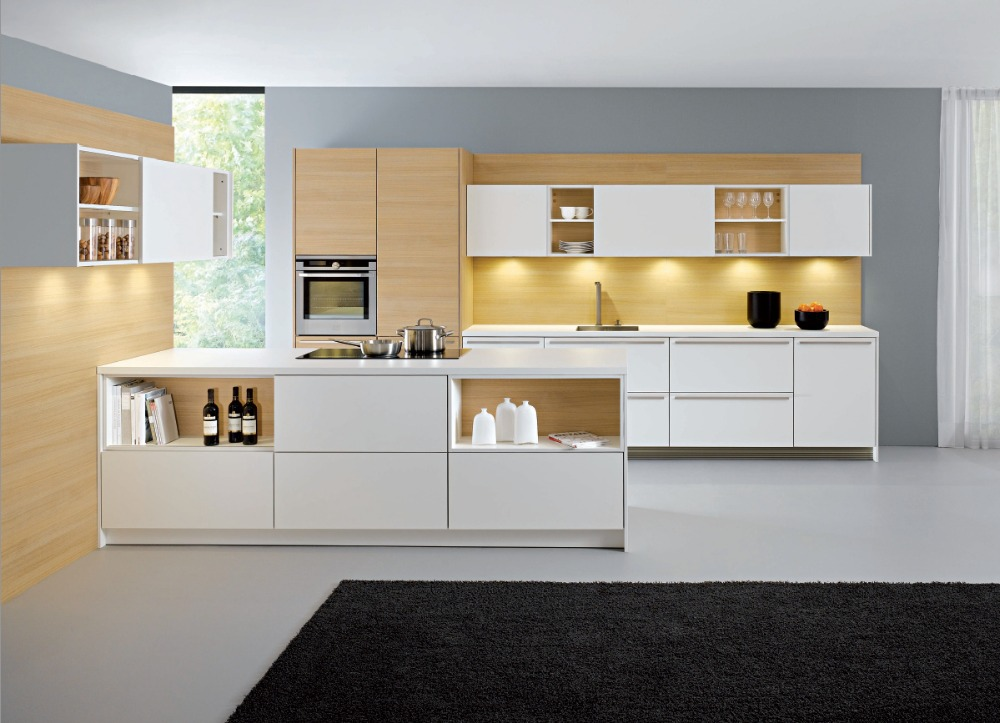 US $150.0 |2017 modern modular kitchen furniture customized made lacquer  kitchen cabinets plywood kitchen unit-in Kitchen Cabinet Parts &  Accessories ...