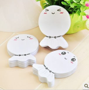 ФОТО 50pcs/set South Korea office school stationery Sunny Doll stickers stickers N cute smile wholesale notepad wholesale memo pad