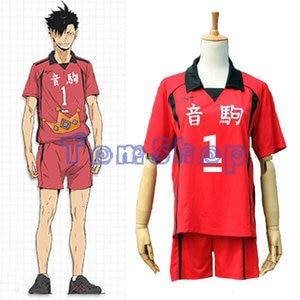Image 5 - Haikyuu!! Nekoma High School #5 Kenma Kozume Cosplay Costume Jersey Sports Wear Uniform Size M XXL Free Shipping