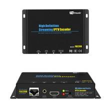 FMUSER H.264 HDMI Codificador codificador Codificador codificador De Vídeo Broadcast live stream en vivo IPTV Wireless FBE200-H.264-LAN