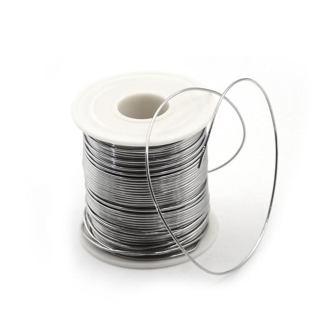Solder Welding Wire Tin Wires 63/37 Rosin Core Solder Good Welding ability Flux 1.8% Flux Reel Welding Line  200g 1.0/0.8 mm