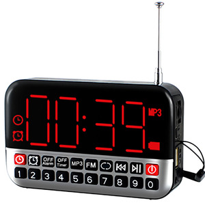 Multifunctional Led Radio Alar