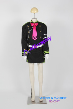 Seraph of the End cosplay Shinoa hiragi Cosplay Costume include headwear ACGcosplay