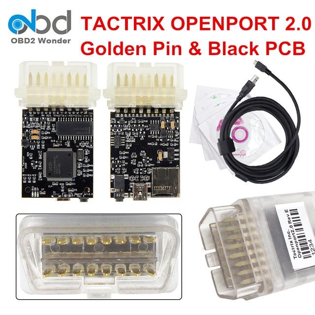 US $21 5  2018 Golden Pin Tactrix Openport 2 0 ECU Flash Tool OBDII ECU  Chip Tuning Scanner For Toyota Eec flash Scanner-in Code Readers & Scan  Tools