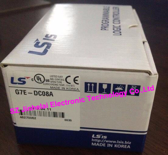 100% New and original  G7E-DC08A  LS(LG)  PLC  DC24V,8 point input extension