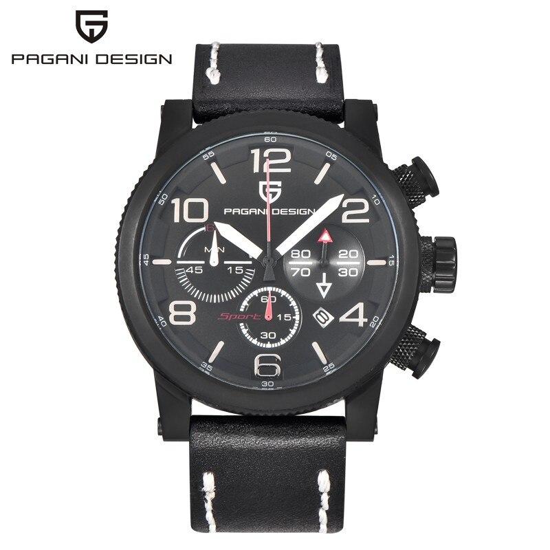 Relogio Masculino Pagani Design Luxury Brand 30m Waterproof Military Watches Men Multi-function Sports Quartz Watch Reloj Hombre все цены