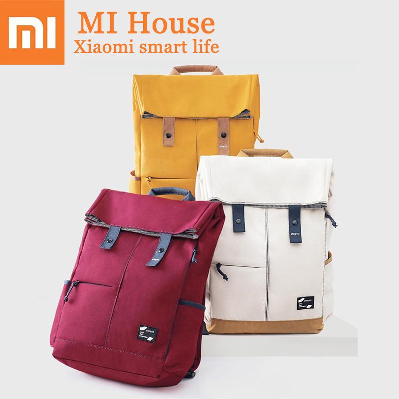 Xiaomi Urevo Backpack Ipx4 Water Repellent 13L Large Capacity Knapsack Men Women Fashion Casual 14/15.6 Inch Computer BagXiaomi Urevo Backpack Ipx4 Water Repellent 13L Large Capacity Knapsack Men Women Fashion Casual 14/15.6 Inch Computer Bag
