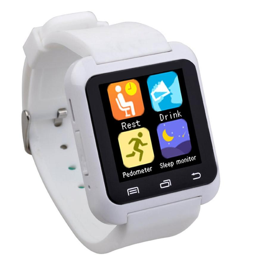 Hot Selling Smart Bluetooth Wrist Watch Pedometer Healthy for iPhone Android phone B31122