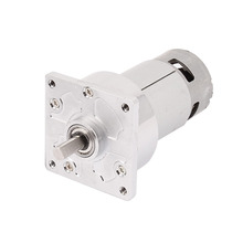 UXCELL(R) High Quality 1Pcs  Torque 8mm Shaft Dia DC 24V 600RPM Electric Low Speed Solder Gear Box Motor